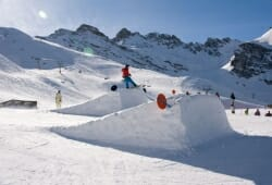 Fulpmes - Schlick 2000 - Skirampe