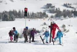 Galtuer - Ballunspitze - Kinder mit Ski