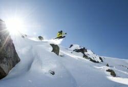 Galtuer - Ballunspitze - Skifahrer