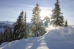Hoernerdorf Grasgehren - Skifahrer