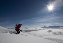 Grossglockner-Heiligenblut - Skifahrer