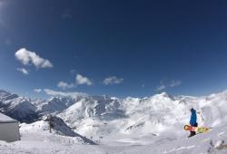 Grossglockner-Heiligenblut - Snowboarder