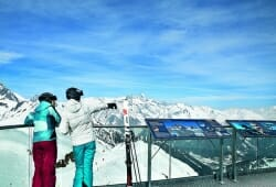Grossglockner Resort Kals-Matrei - Ausblick Adler Lounge