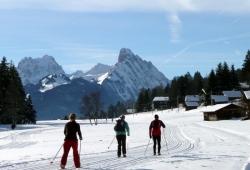 Gstaad - Langlauf in Saanenmoeser