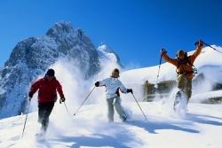 Gstaad - Schneeschuhtour vor der Gummfluh