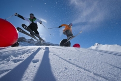 Ischgl - Samnaun - Silvretta Arena - Skifahrer