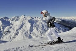 Ski-optimal Hochzillertal - Skifahrerin