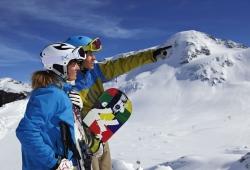 Kaunertaler Gletscher - Gipfel zeigen