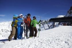 Kaunertaler Gletscher - 4 Laenderblick