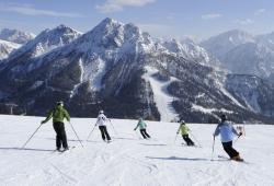 Kronplatz - Skifahren