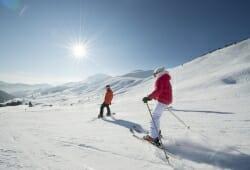 Aravis - Skifahren