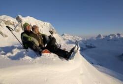 Lech Zuers am Arlberg - Schneeschuh Rast