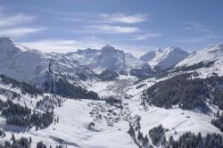 Lech Zuers am Arlberg - Luftbild von Lech