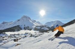Lech Zuers am Arlberg - Skirun