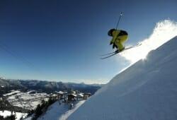 Brauneck Bergbahn - Skifahrer