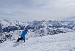 Mayrhofen - Snowboarden
