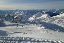 Moelltaler Gletscher - Aussicht Bergstation