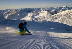 Moelltaler Gletscher - Skifahrer