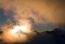 Ramolkamm vom Wurmkogel, Ötztaler Alpen, Tirol, Österreich