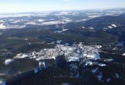 Oberhof - Luftaufnahme