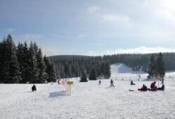Oberhof - Skigebiet Golfwiese