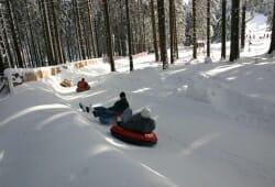 Oberhof - Snowtubing an der Golfwiese