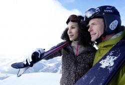 Oberstaufen - Skifahrer