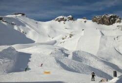 Das Hoechste - Oberes Skigebiet am Nebelhorn