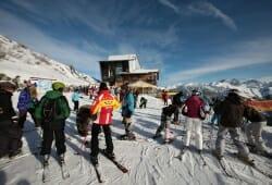 Das Hoechste - Skifahren