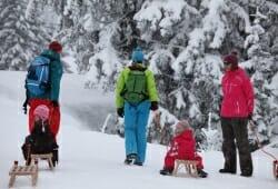 Das Hoechste - Winterwandern am Nebelhorn