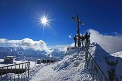 Das Hoechste - Gipfelglueck am Nebelhorn