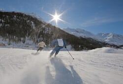Pfelders - Skifahren