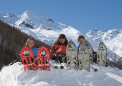 Pfelders - Schneeschuhwandern