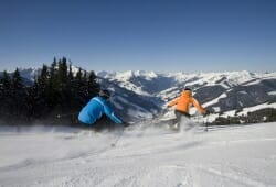 Saalbach-Hinterglemm-Leogang - Ski fahren