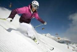 Saalbach-Hinterglemm-Leogang - Skifahrerin