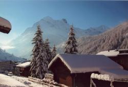 Saas-Fee - Im Winter