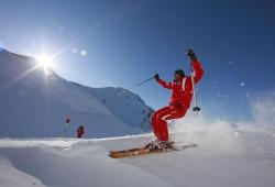 Speikboden - Skifahrer