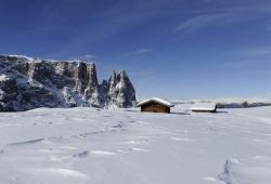 Seiser Alm - Winterlandschaft