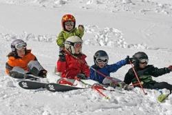 Spitzingsee - Tegernsee - Kinder im Schnee