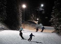 Spitzingsee - Tegernsee - Skifahren bei Nacht