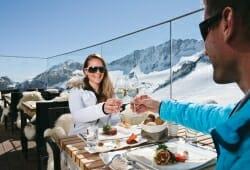 Stubaier Gletscher - Restaurant Schaufelspitz