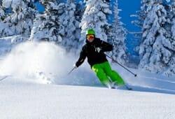 Sudelfeld-Bayrischzell - Skifahrer