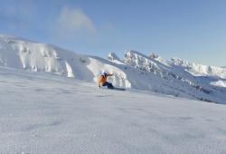 Toggenburg - Skifahrer