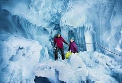 Hintertuxer Gletscher - Natur Eispalast