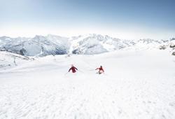 Hintertuxer Gletscher - Schlegeleisabfahrt