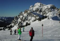 Wendelstein - Gipfelblick im Winter