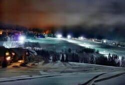 Winterberg - Skiliftkarussell - Neuastenberg bei Nacht