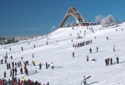 Winterberg - Skiliftkarussell - Skigebiet