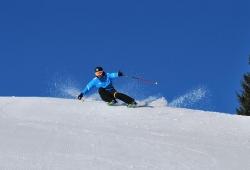 Zauberberg - Semmering - Skifahrer