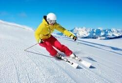 Zauchensee - Skifahrer